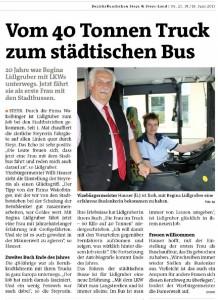 Vom 40 t Truck zum städtischen Bus
